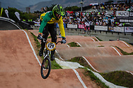 #129 (KRONK Tristyn) AUS at the 2016 UCI BMX World Championships in Medellin, Colombia.