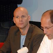 NLD/Aalsmeer/20070601 - Uitzending van de BNN grote  Donorschow, persconferentie, Laurens Drillich, Paul Römer