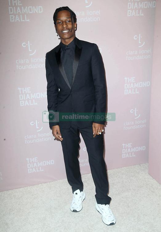 September 14, 2018 - New York City, New York, USA - 9/13/18.ASAP Rocky at Rihanna''s 4th Annual Diamond Ball held at Cipriani Wall Street in New York City..(NYC) (Credit Image: © Starmax/Newscom via ZUMA Press)