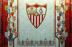 03-03-2007 VOETBAL: SEVILLA FC - BARCELONA: SEVILLA  <br /> Sevilla wint de topper met Barcelona met 2-1 / Stadion Ramon Sanchez Pizjuan <br /> ©2006-WWW.FOTOHOOGENDOORN.NL