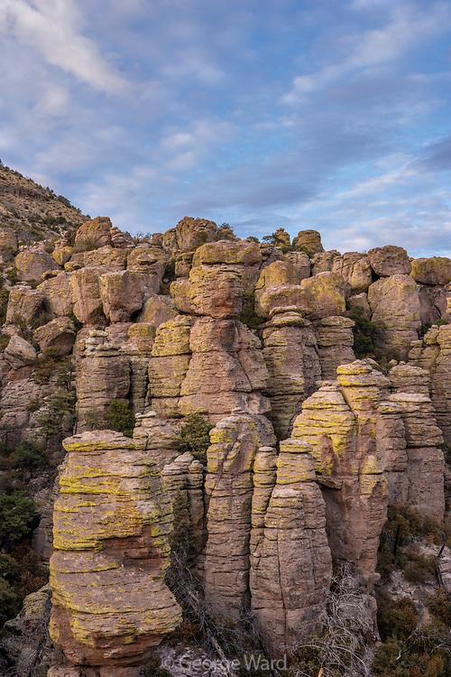 Rock Formations in Echo Canyon, Chiricahua Wilderness, Chiricahua National Monument, Cochise County, Arizona