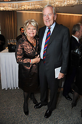 JUDITH CHALMERS and NEIL DURDEN-SMITH at the Lady Taverners Tribute Lunch in honour of Nicholas Parsons held at The Dorchester, Park Lane, London on 20th November 2009.