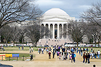 Front of the National Gallery of Art in Washington DC