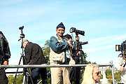 Washington, D.C-Oct 10:  Photographer Bill Moore attends the Million Man March 20th Anniversary March aka JusticeOrElse March held in Washington, D.C. on October 10, 2015.  Photo by Terrence Jennings/terrencejennings.com
