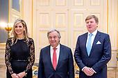 Koninklijk Paar ontvangen secretaris-generaal Verenigde Naties