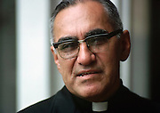 Óscar Arnulfo Romero y Galdámez (15 August 1917 – 24 March 1980)[3] was a prelate of the Catholic Church in El Salvador, who served as the fourth Archbishop of San Salvador. He spoke out against poverty, social injustice, assassinations and torture.[4] In 1980, Romero was assassinated while offering Mass in the chapel of the Hospital of Divine Providence.