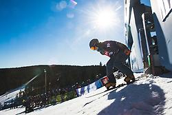 Michelle Dekker (NED) during parallel slalom FIS Snowboard Alpine World Championships 2021 on March 2nd 2021 on Rogla, Slovenia. Photo by Grega Valancic / Sportida