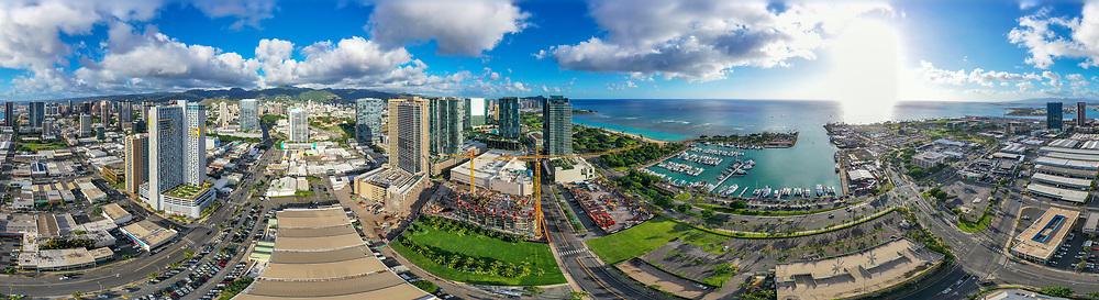 Panoramic, Honolulu, Oahu, Hawaii
