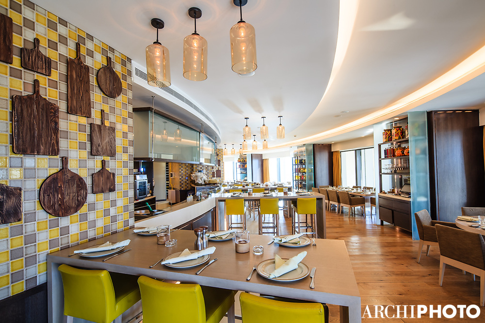 AS. Architecture-Studio • Rotana Hotel, Amman, Jordan • Gusto Italian Restaurant