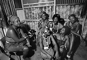 Fela Kuti's Wives at the Shrine - Lagos