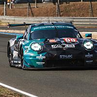 #99, Porsche 911 RSR, Dempsey-Proton Racing, drivers: Julien Andlauer, Vutthikorn Inthraphuvasak, Lucas Legeret, LM GTE Am, at the Le Mans 24H, 2020 (17th September 2020)