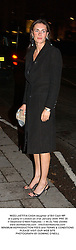MISS LAETITIA CASH daughter of Bill Cash MP at a party in London on 31st January 2004.PRE 28