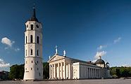 Litwa. Wilno. Katedra i Plac Katedralny