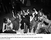 Blizzard Ball. Grosvenor House. London 7 January 1986. Film. 8611f4<br />© Copyright Photograph by Dafydd Jones. 66 Stockwell Park Rd. London SW9 0DA. Tel 0171 733 0108