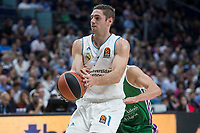 Real Madrid Fabien Causeur during Turkish Airlines Euroleague match between Real Madrid and Unicaja at Wizink Center in Madrid, Spain. November 16, 2017. (ALTERPHOTOS/Borja B.Hojas)