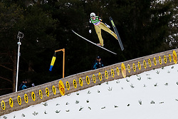 Mitja MEZNAR of Slovenia during Flying Hill Individual First Round at 2st day of FIS Ski Jumping World Cup Finals Planica 2011, on March 17, 2011, Planica, Slovenia. (Photo By Matic Klansek Velej / Sportida.com)