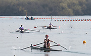 Caversham. Berkshire. UK<br /> Top. Fran RAWLINS, Women's Lightweight single sculls, semi final A/B1. 2016 GBRowing U23 Trials at the GBRowing Training base near Reading, Berkshire.<br /> <br /> Tuesday  12/04/2016<br /> <br /> [Mandatory Credit; Peter SPURRIER/Intersport-images]