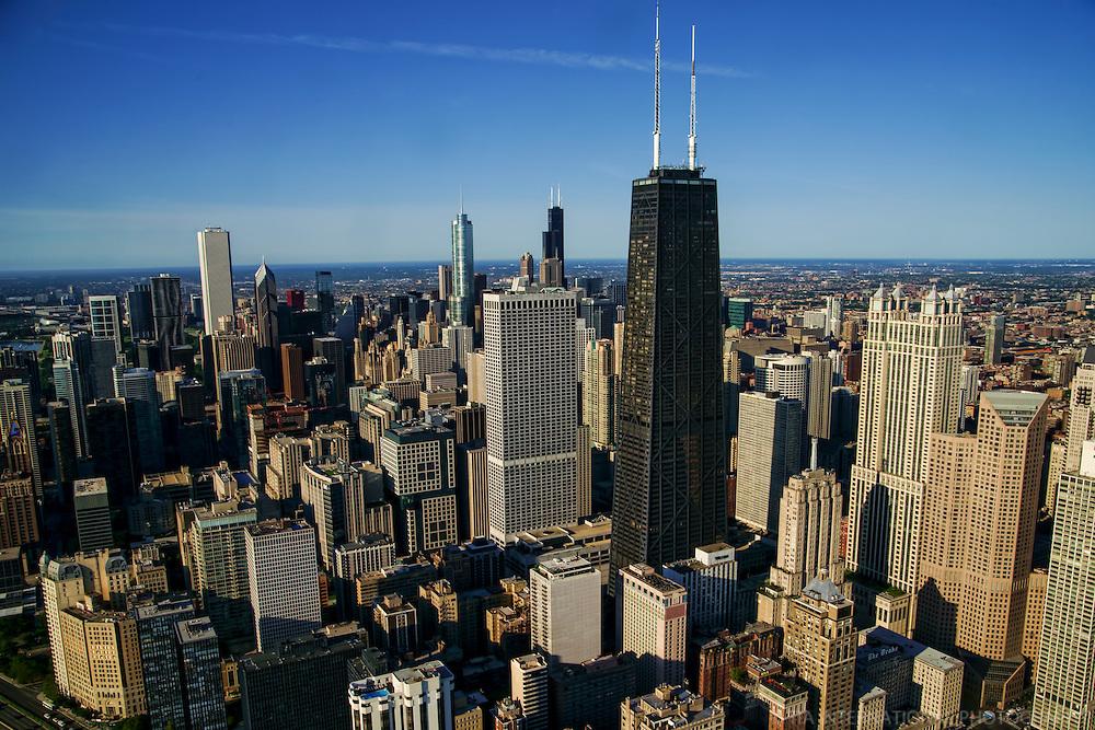 Chicago Skyline from Northeastern End