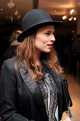 HAYLEY ATWELL at the H&M Home Launch held at 174-176 Oxford Street, London W1 on 2nd November 2010.