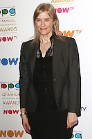 Helen Edmundson, Broadcasting Press Guild 42nd Annual Television & Radio Awards, Theatre Royal Drury Lane, London UK, 11 March 2016, Photo by Brett D. Cove