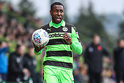 Forest Green Rovers Dale Bennett(2) during the EFL Sky Bet League 2 match between Forest Green Rovers and Mansfield Town at the New Lawn, Forest Green, United Kingdom on 24 March 2018. Picture by Shane Healey.