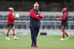 Lions coach Warren Gatland during the captain's run at Forsyth Barr Stadium, Dunedin.