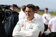 Jacques Rudolph of Glamorgan poses for a photograph. Glamorgan CC media day and photocall at Aston Martin, St Athan, near Cardiff , South Wales on Thursday 6th April 2017.<br /> pic by Andrew Orchard, Andrew Orchard sports photography.