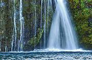 Stjórnarfoss waterfall near Kirkjubæjarklaustur in Iceland.