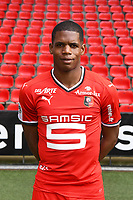 Ludovic Baal during photoshooting of Stade Rennais for new season 2017/2018 on September 19, 2017 in Rennes, France. (Photo by Philippe Le Brech/Icon Sport)