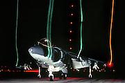 AV-8B Harrier vertical landing