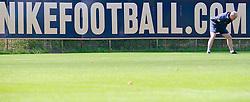 06.07.2010,Platz 05, Bremen, GER, 1. FBL, Training Werder Bremen , im Bild Dehnungsuebung Thomas Schaaf ( Werder  - Trainer  COACH)    EXPA Pictures © 2010, PhotoCredit: EXPA/ nph/  Kokenge / SPORTIDA PHOTO AGENCY