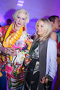 JULIE VERHOEVEN; AMANDA WILKINSON, Pop party. the birthday celebration of twin sisters Valeria Napoleone and Stefania Pramma. Studio Voltaire, London SW4. 17 May 2013.