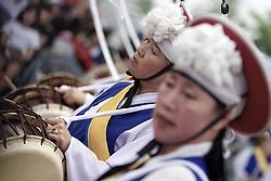 Korea Match Cup 2010. World Match Racing Tour. Gyeonggi, Korea. 13th June 2010. Photo: Ian Roman/Subzero Images.