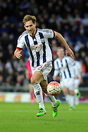 West Brom's Craig Dawson in action. The Emirates FA Cup, 4th round match, West Bromwich Albion v Peterborough Utd at the Hawthorns stadium in West Bromwich, Midlands on Saturday 30th January 2016. pic by Carl Robertson, Andrew Orchard sports photography.