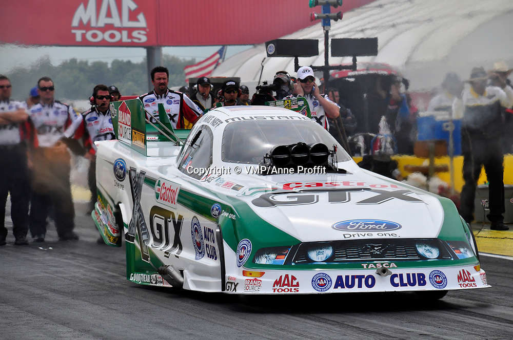 Mike Neff at Full throttle drag racing series, National Hot Rod Association 2011