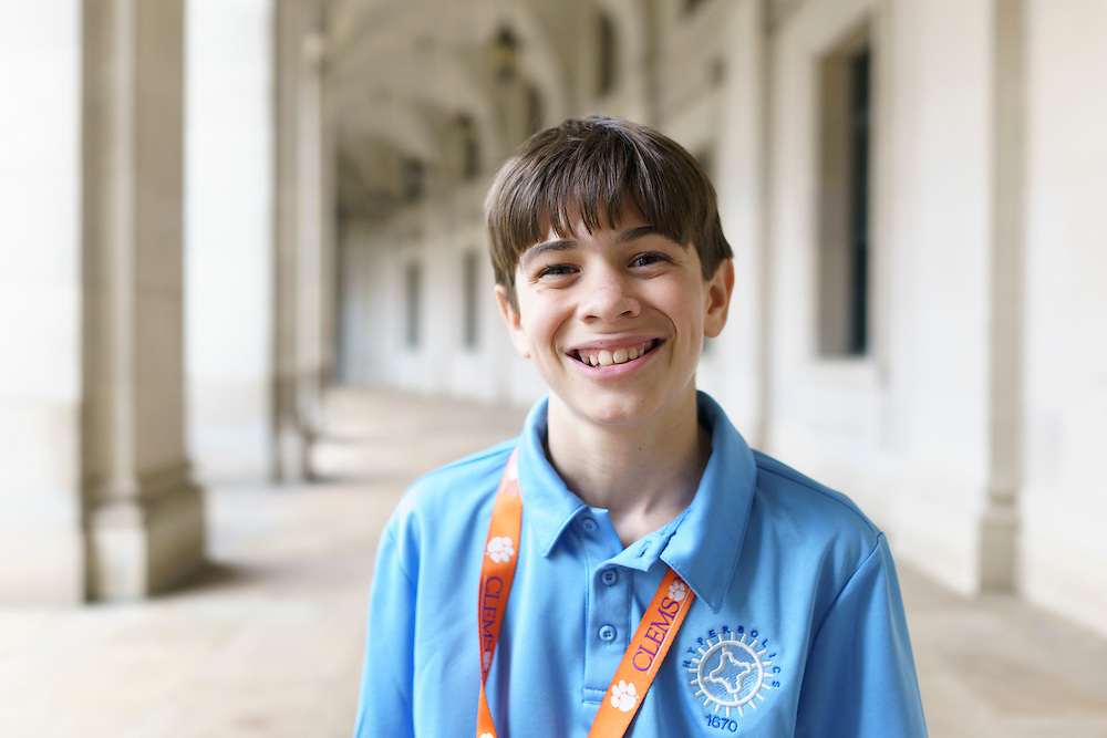Washington, D.C. - October 07, 2016: Elliot Turner, 6th grade.<br /> <br /> The Hyperbolics are a First Lego League team based out of Sterling School in Greenville SC, who made a trip to DC ask government officials to ban lead wheel weights Friday October 7, 2016.<br /> <br /> <br /> CREDIT: Matt Roth for Earthjustice
