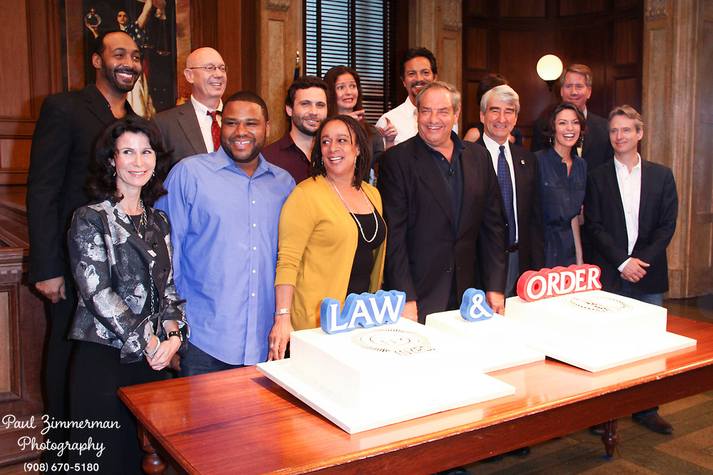 23 September 2009 - New York, NY - Cast of Law and Order. Law and Order's 20th Season Kickoff twenty years of arresting drama. Photo Credit: Paul Zimmerman/AdMedia