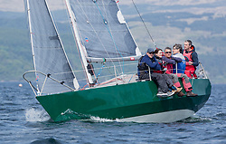 Sailing - SCOTLAND  - 27th May 2018<br /> <br /> DAY 3 Racing the Scottish Series 2018, organised by the  Clyde Cruising Club, with racing on Loch Fyne from 25th-28th May 2018<br /> <br /> GBR6305C, Lady Ex, Ben Shelley, Fairlie Yacht Club, Extrovert 22<br /> <br /> Credit : Marc Turner<br /> <br /> Event is supported by Helly Hansen, Luddon, Silvers Marine, Tunnocks, Hempel and Argyll & Bute Council along with Bowmore, The Botanist and The Botanist