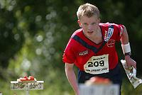 Orientering, 21. juni 2002. NM sprint. Andreas Høye, Fredrikstad.