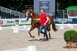 Deusser Daniel, GER, Kiana van het Herdershof<br /> European Championship Jumpîng<br /> Rotterdam 2019<br /> © Hippo Foto - Dirk Caremans<br /> Deusser Daniel, GER, Kiana van het Herdershof
