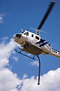 Firefighting Helicopter training in Kern County.