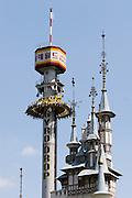 Lotte World Magic Island amusement park. Gyro drop.