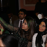 London,England,UK. 4th March 2017: A hosts of celebrites and Vip guests attends the India Pakistan London Fashion Show at Gilson Hall. by See Li