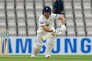 Joe Weatherley of Hampshire batting during the first day of the Specsavers County Champ Div 1 match between Hampshire County Cricket Club and Essex County Cricket Club at the Ageas Bowl, Southampton, United Kingdom on 5 April 2019.
