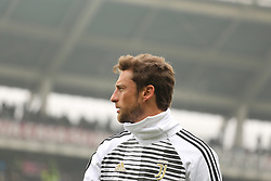 February 18, 2018 - Turin, Piedmont, Italy - Claudio Marchisio (Juventus FC) before the Serie A football match between Torino FC and Juventus FC at Olympic Grande Torino Stadium  on 18 February, 2018 in Turin, Italy. (Credit Image: © Massimiliano Ferraro/NurPhoto via ZUMA Press)