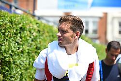 June 20, 2017 - London, United Kingdom - Nicholas Mahut (FRA) pictured while practicing at AEGON Championships The Queen's Club, London on June 20, 2017. (Credit Image: © Alberto Pezzali/NurPhoto via ZUMA Press)
