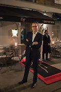 GERALD BLAZEVIC, Nicky Haslam hosts dinner at  Gigi's for Leslie Caron. 22 Woodstock St. London. W1C 2AR. 25 March 2015