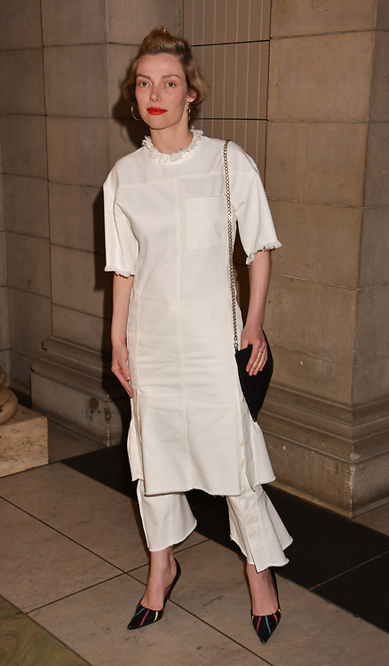 Camilla Rutherford at Fashioned From Nature held at The V&A Museum, London, England. 18 April 2018.