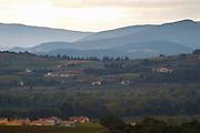 Landscape on the north side of Mont Ventoux Vaucluse, France, Europe