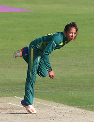 June 15, 2018 - Canterbury, England, United Kingdom - Shabnim Ismail South Africa Women.during Women's One Day International Series match between England Women against South Africa Women at The Spitfire Ground, St Lawrence, Canterbury, on 15 June 2018  (Credit Image: © Kieran Galvin/NurPhoto via ZUMA Press)